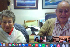 Skype Call with Dr. Schlessinger's Family