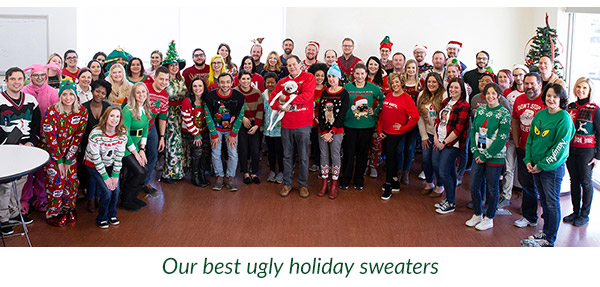 Our Best Ugly Holiday Sweaters