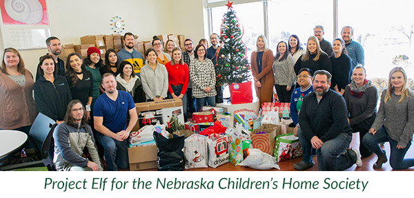 Project Elf for the Nebraska Children's Home Society